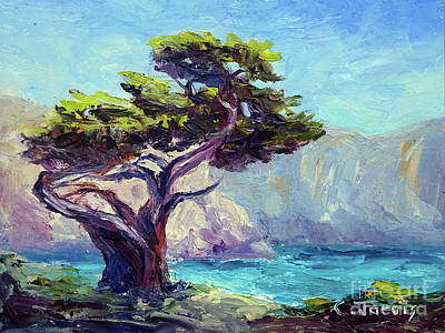 Painting - Pt. Lobos Beauty by Carolyn Jarvis
