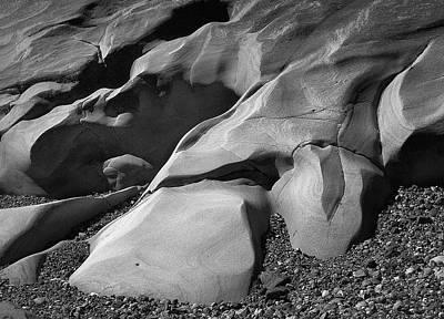 Photograph - Pt. Lobos Rocks by Art Shimamura