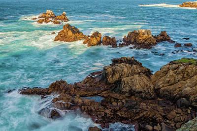 Photograph - Pt Lobos Seascape by Jonathan Nguyen