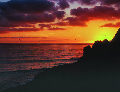 Photograph - Pt Mugu Sunset by Samuel M Purvis III