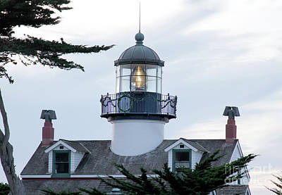 Photograph - Pt. Pinos Lighthouse,  Pacific Grove Circa 2017  by California Views Mr Pat Hathaway Archives