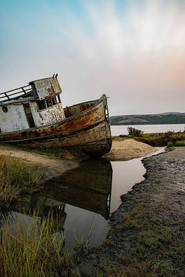 Photograph - Pt. Reyes Shipwreck 4 by Wendy Carrington