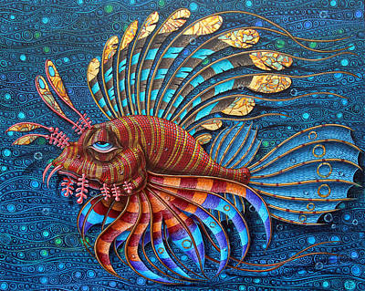 Pterois Art Print