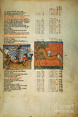 Photograph - Ptolemy: Almagest, 1490 by Granger