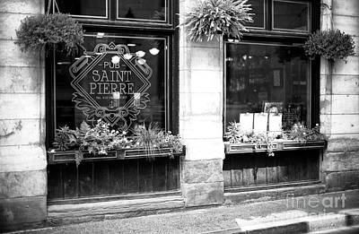 Photograph - Pub Saint Pierre by John Rizzuto