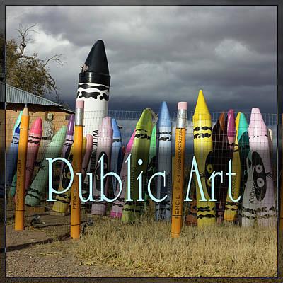 Digital Art - Public Art by Becky Titus