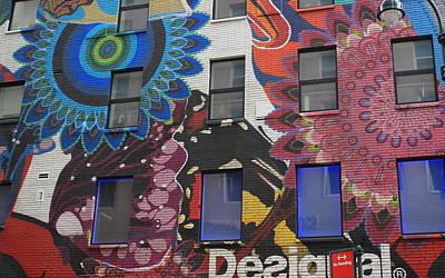 Photograph - Public Art - Nyc Building Facade by Dora Sofia Caputo Photographic Design and Fine Art