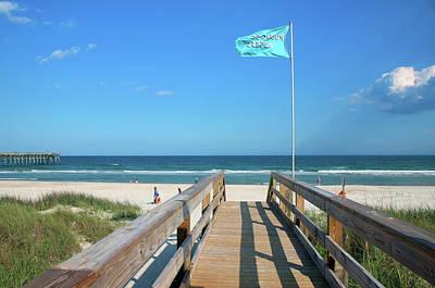 Photograph - Public Beach Access by Cynthia Guinn