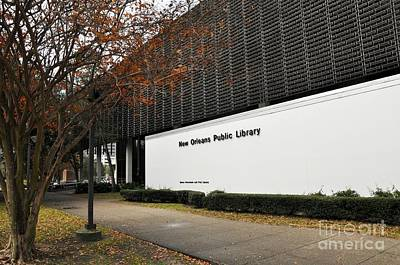 Photograph - Public Library by Andrew Dinh