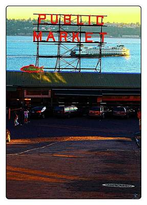 Photograph - Public Market And Ferry by Craig Perry-Ollila