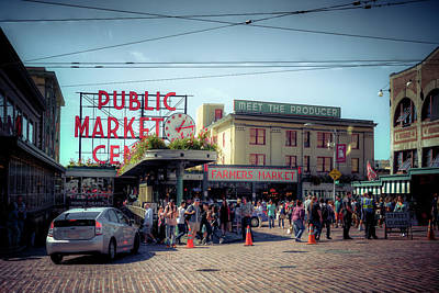 Photograph - Public Market Crowd by Spencer McDonald