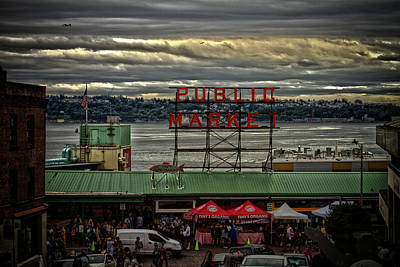 Photograph - Public Market by Daniel Houghton