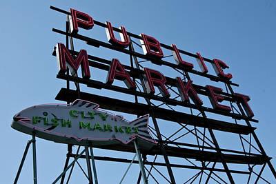 Photograph - Public Market by Roger Mullenhour