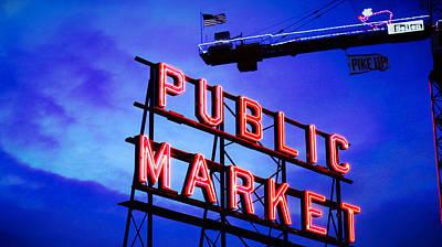 Photograph - Public Market by Vanessa Palomino
