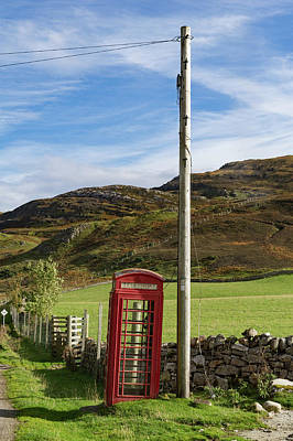 Photograph - Public Phone Box by Gary Eason