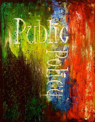 Public Policy Art Print by Laura Pierre-Louis