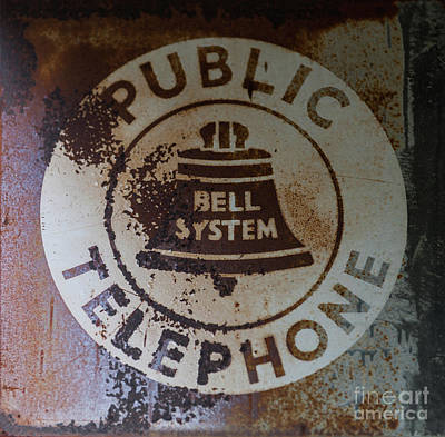 Photograph - Public Telephone by Dale Powell