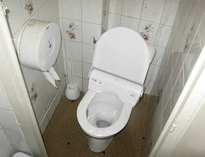 Catherdral Photograph - Public Toilet 005 by Marcus Kett