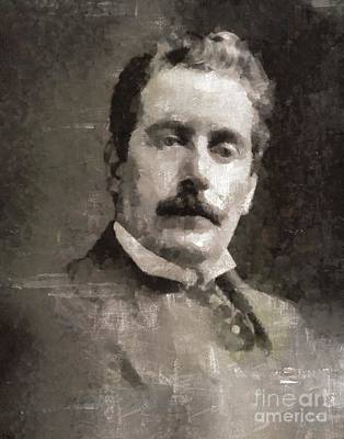 Puccini, Composer Art Print by Mary Bassett