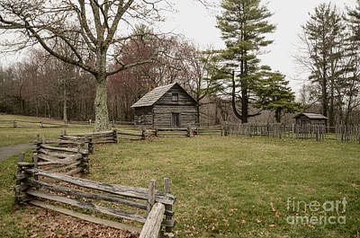 Pucketts Photograph - Puckett Cabin by Jim Cook