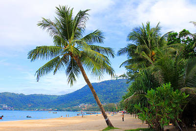 Phuket Patong Beach Art Print by Mark Ashkenazi