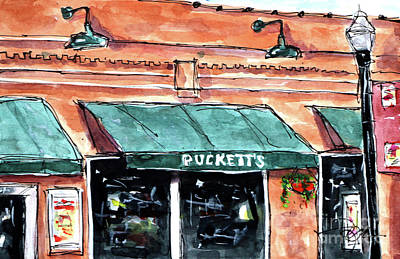 Pucketts Painting - Puckett's Place by Tim Ross