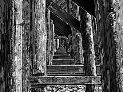Photograph - Pudding Creek Bridge  by Bill Gallagher