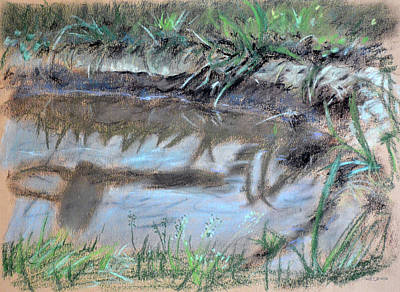 Painting - Puddle by Christopher Reid