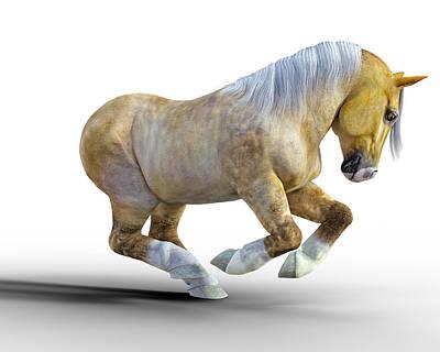 Animals Digital Art - Pudge by Betsy Knapp