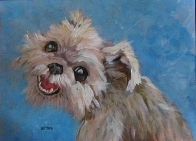 Pudgy Smiles Art Print by Barbara O'Toole