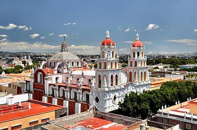 Puebla Painting - Puebla by Benjie Cuevas