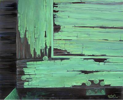 Painting - Pueblo Bonito, Chaco by Michael Cranford