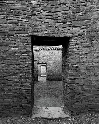 Pueblo Bonito Doors Art Print by Joseph Smith