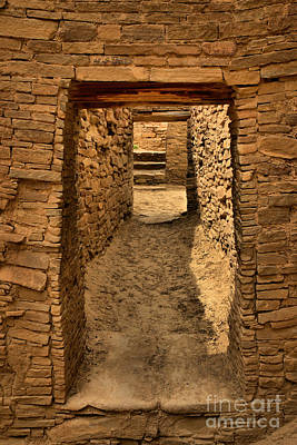 Photograph - Pueblo Bonito Doorways by Adam Jewell