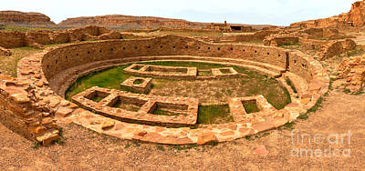 Photograph - Pueblo Bonito Great Kiva by Adam Jewell