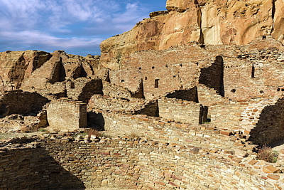 Photograph - Pueblo Bonito In Chaco Canyon by Kathleen Bishop
