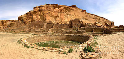 Photograph - Pueblo Bonito Kiva Ruins by Adam Jewell