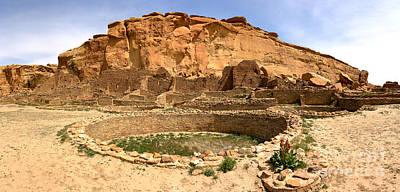 Photograph - Pueblo Bonito Kiva Ruins by Adam Jewell
