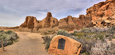 Photograph - Pueblo Bonito Pathway by Adam Jewell