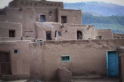 Photograph - Pueblo Complex Taos by Nadalyn Larsen
