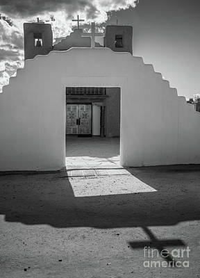 Photograph - Pueblo De Taos Cross by Inge Johnsson