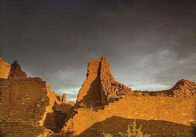 Photograph - Pueblo Del Arroyo Thunderstorm by Kunal Mehra