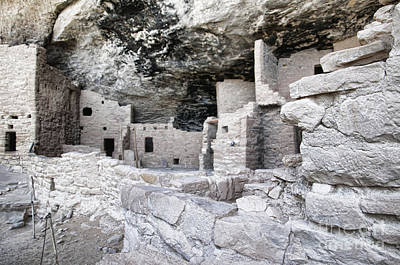 Photograph - Pueblo Indian City Under A Ledge by Brenda Kean