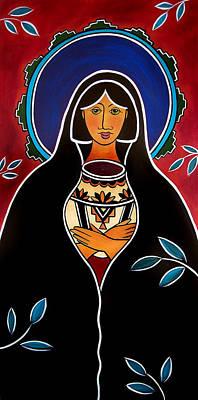 Painting - Pueblo Madonna by Jan Oliver-Schultz