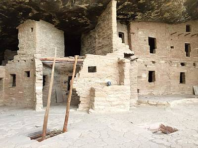 Photograph - Cliff Dwelling At Mesa Verde by Anne Sands