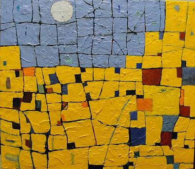 Painting - Pueblo Moon by Bernard Goodman