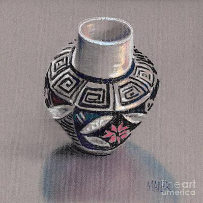 Pueblo Seed Jar Original by Donald Maier