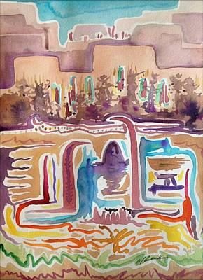 Pueblo Spirits/abstraction #1 Original