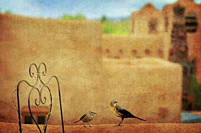 St. Francis Of Assisi Photograph - Pueblo Village Settlers by Diana Angstadt