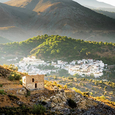 Photograph - Pueblos Blancos Of Andalucia by Michael Thomas
